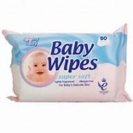 BABY & ME WIPES 80