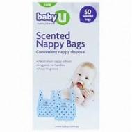 BABY U/SC NAPPY SACKS 200