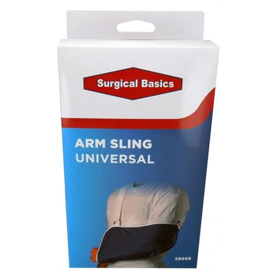 ARM SLING SURGICAL BASICS ADJ STRAPS