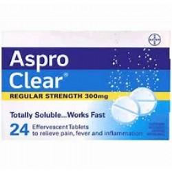 ASPRO CLEAR TAB 24