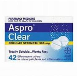 ASPRO CLEAR TAB 42