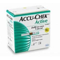 ACCU-CHEK-ACTIVE TEST-STRP 100X1