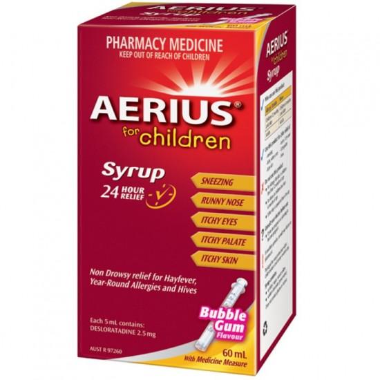 AERIUS SYRP 60ML