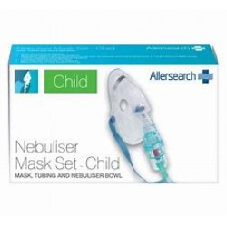 A/SEARCH RAPIDFLO NEB MASK SET CHILD
