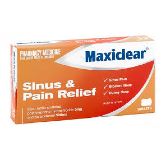 CHEM/OWN SINUS PAIN RELIEF TAB 24