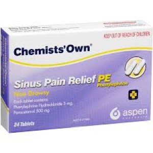 CHEM/OWN SINUS RELIEF TAB 12
