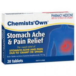CHEM/OWN STOM ACH/PAIN RLF DS TAB 10