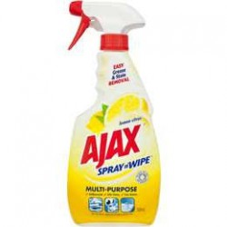 AJAX SPRAY N WIPE LMN TRG