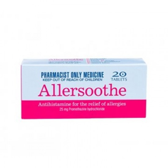 ALLERSOOTHE TAB 25MG 50