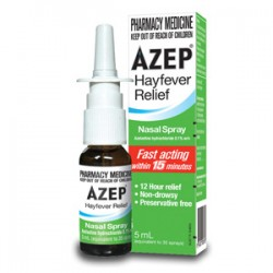 AZEP HAYFEVER RELIEF N/S 0.1% 5ML 1