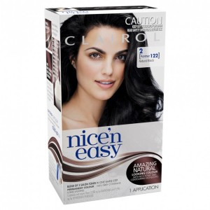 CLAIROL N/EASY NAT 122 BLACK
