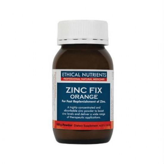 Ethical Nutrients Zinc Fix Powder Orange 100G