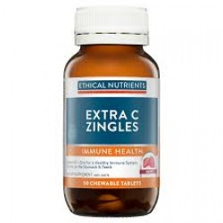 Ethical Nutrients Extra C Zingles (Berry) 50 Tabs