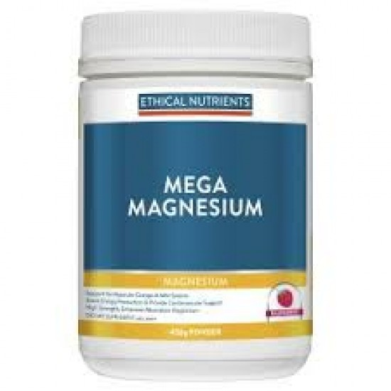 Ethical Nutrients Mega Magnesium Energy and Stress 140g