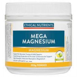 Ethical Nutrients Mega Magnesium Muscle Plus 135g