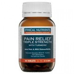 Ethical Nutrients Pain Relief Triple Strength 30 Tabs