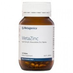 Metagenics MetaZinc 120 Tablets