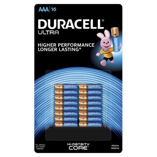 Duracell Ultra Batteries AAA 16 pack