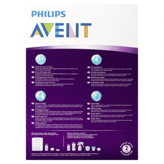 Avent 3-in-1 Electric Steam Steriliser