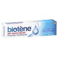Biotene Dry Mouth Relief Fluoride Toothpaste Fresh Mint Original 120g