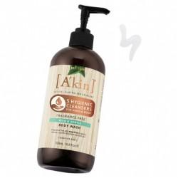 A'kin Fragrance Free - Mild & Gentle Body Wash 500ML