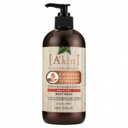 A'kin Energising - Orange Blossom & Juniper Body Wash 500ML
