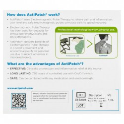 ActiPatch Electromagnetic Pulse Therapy - Muscle & Joint Pain