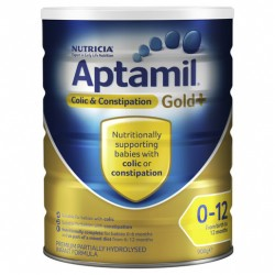 Aptamil Gold+ Colic & Constipation For Babies From Birth to 12 Months 900g
