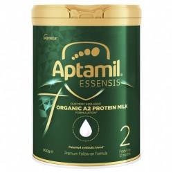 Aptamil Essensis Organic A2 Protein Milk 2 Premium Follow-On Formula From 6-12 Months 900g