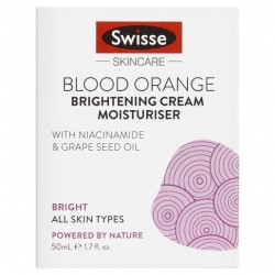 Swisse Blood Orange Brightening Cream Moisturiser 50mL