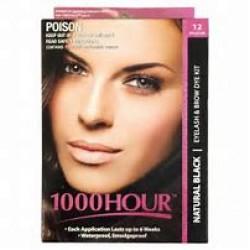 1000 HOUR E/LASH DYE BLK